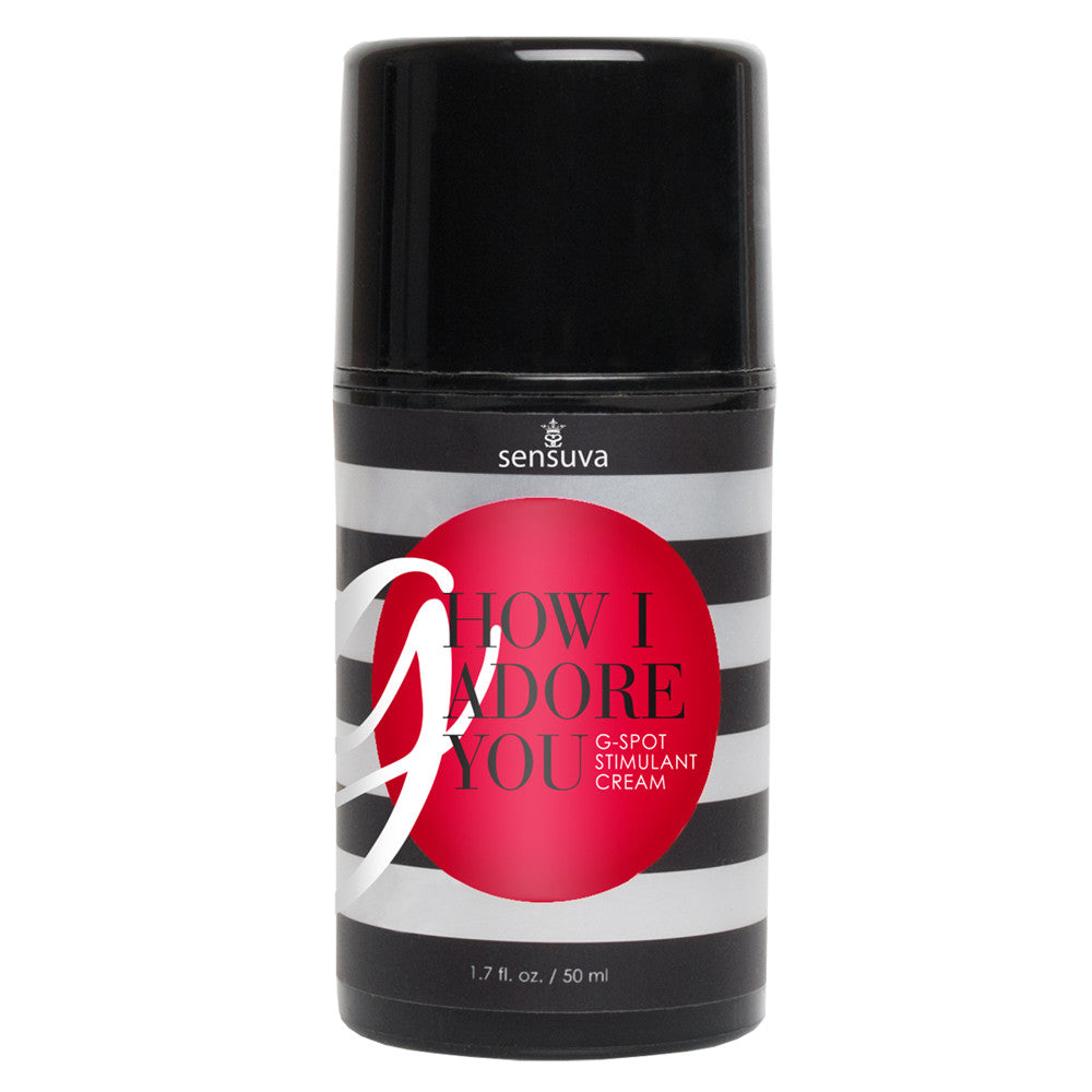 Sensuva G How I Adore You 50ml Sexual Stimulant