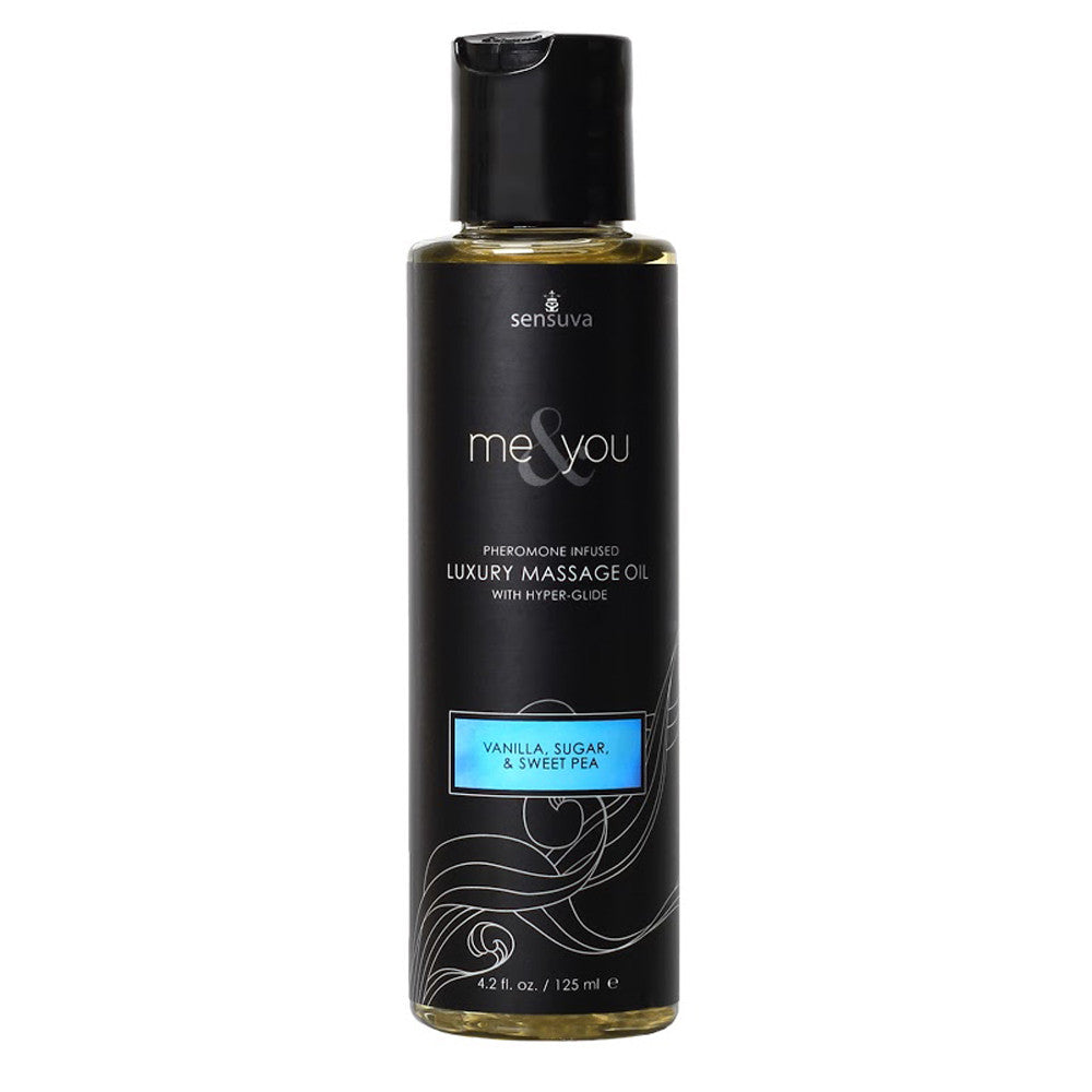 Sensuva - Me & You Massage Oil 125ml - VAT - 1