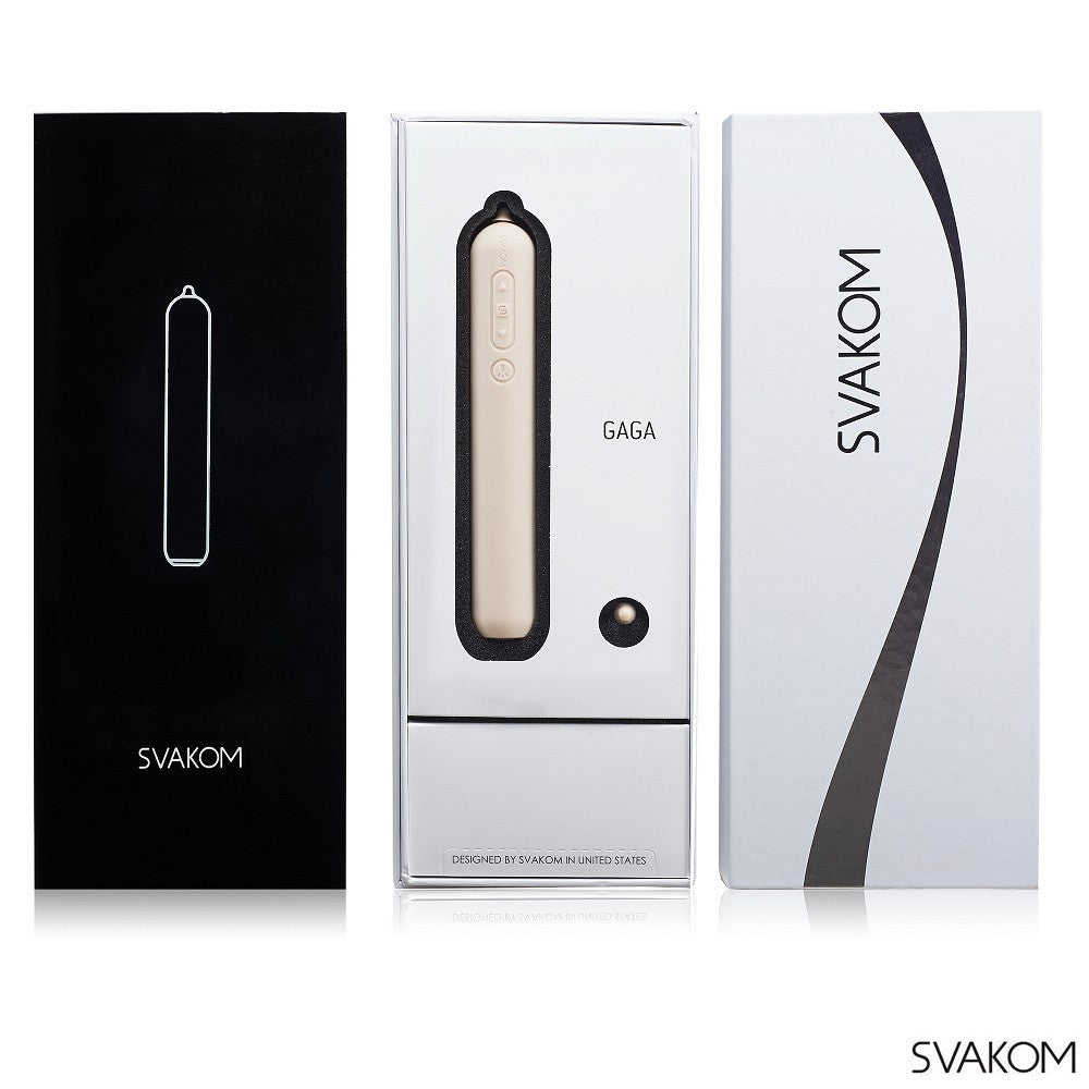 SVAKOM GAGA WORLD'S 1st HD CAMERA VIBRATOR - VAT - 13