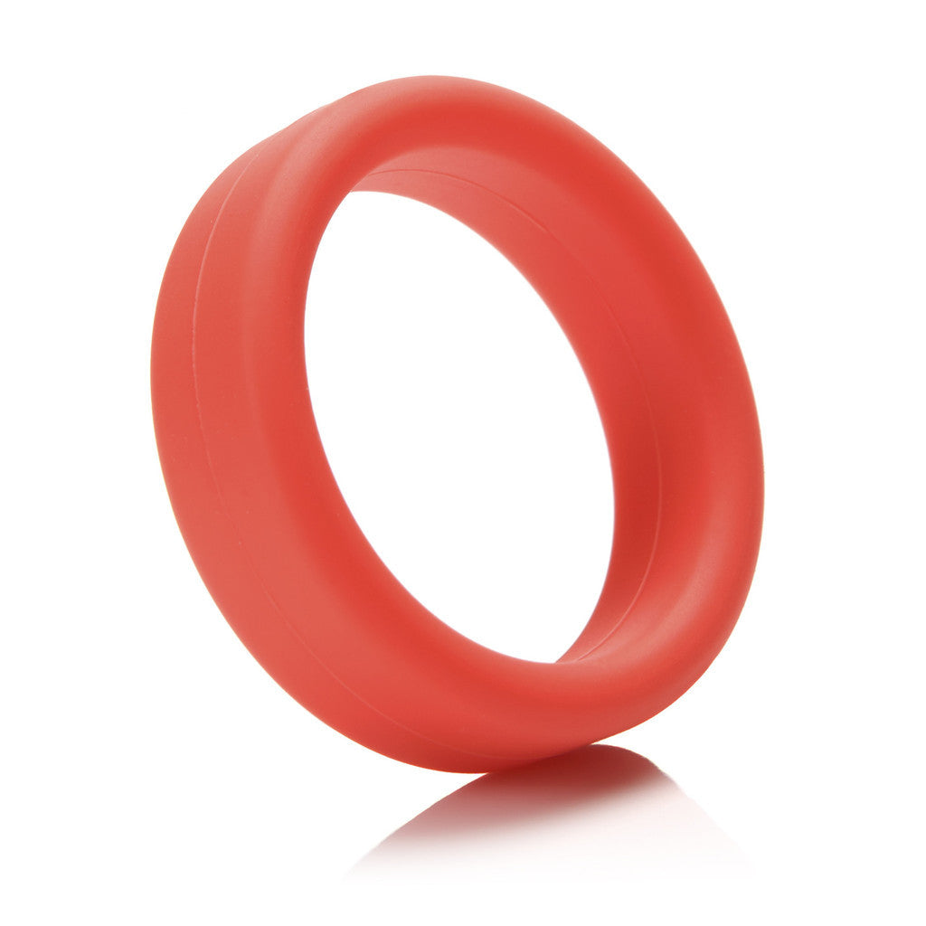 Tantus: SuperSoft C-Ring Red - Virgin Adult Toys