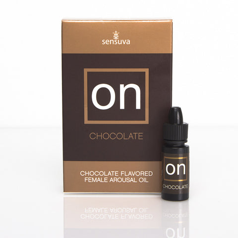 Sensuva: ON Chocolate 5ml bottle- VAT