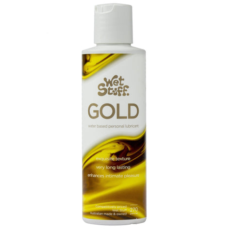 Wet Stuff Gold Water Based Lube 270g