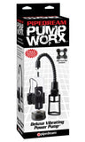PipeDream Pump Worx Deluxe Vibrating Power Pump- VAT