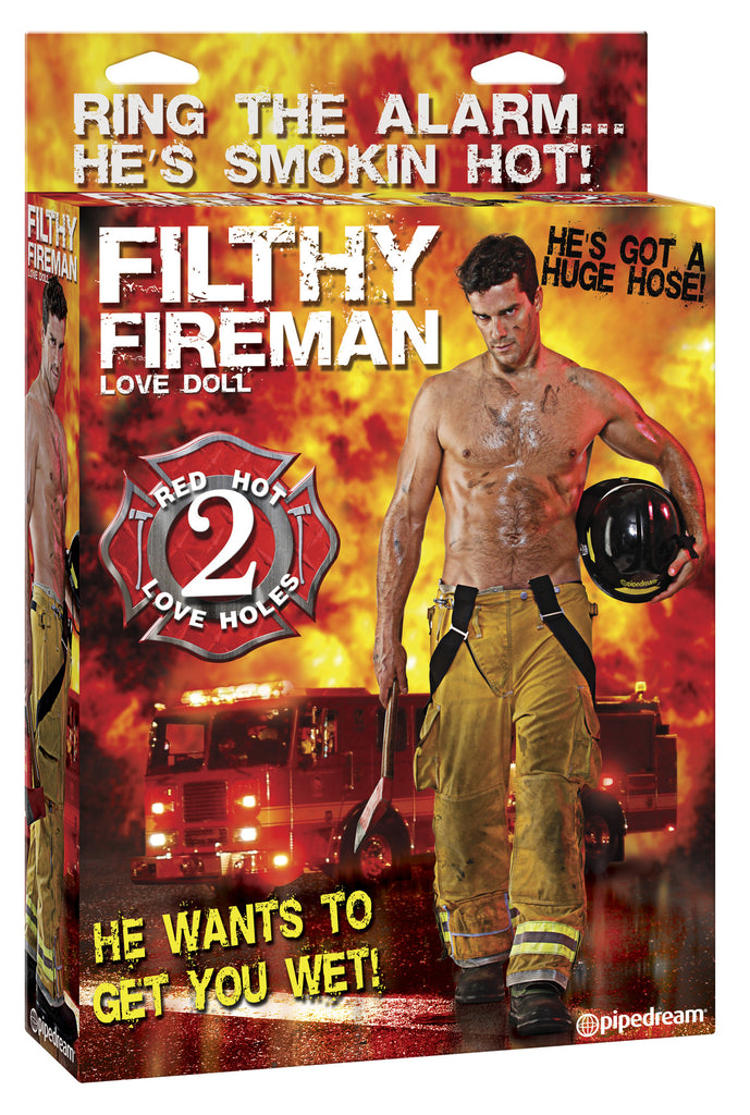 PipeDream Fireman Blow Up Doll- VAT