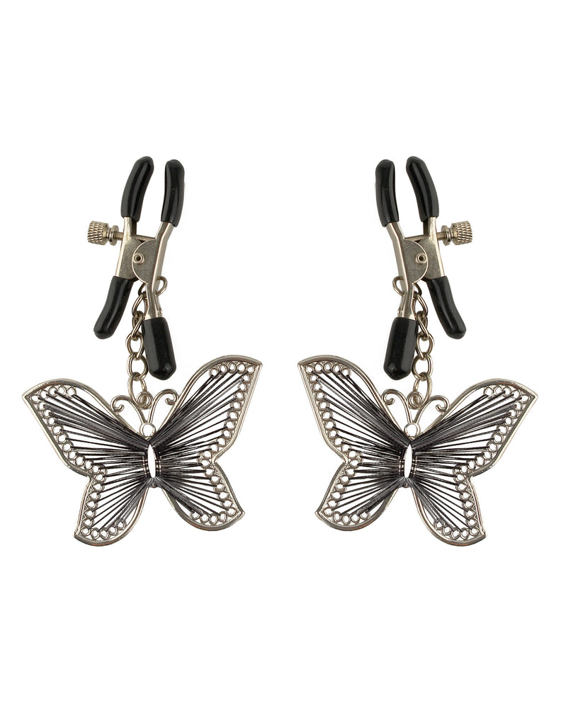 PipeDream Fetish Fantasy Butterfly Nipple Clamps- VAT2