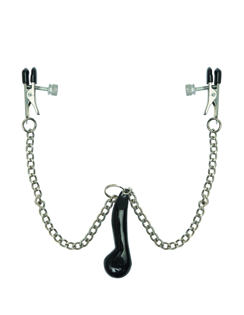 PipeDream Fetish Fantasy Heavyweight Nipple Clamps- VAT2