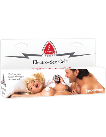 PipeDream Fetish Fantasy Shock Therapy Electro Sex Gel 4 oz- VAT