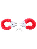 PipeDream Fetish Fantasy Beginner's Furry Cuffs Red- VAT2