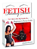 PipeDream Fetish Fantasy Beginner's Furry Cuffs Red- VAT