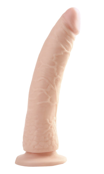 "PipeDream Basix Rubber Works Slim Rubber Dildo 7""- VAT1"