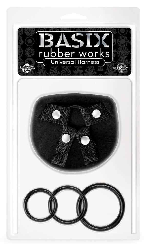 Basix Rubber Works Universal Strap On Harness Kit VAT1