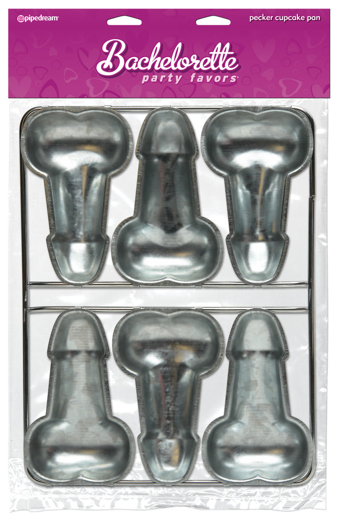 Bachelorette Party Pecker Cup Cake Pan Adult Novelties