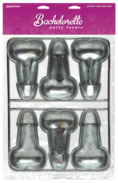 PipeDream Bachelorette Party Pecker Cup Cake Pan- VAT
