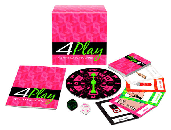 Kheper Games 4Play Game - Virgin Adult Toys