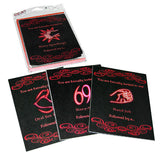 Kheper Games SEX! Invitations Game - Virgin Adult Toys