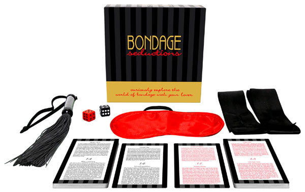 Kheper Games Bondage Seductions Game - Virgin Adult Toys