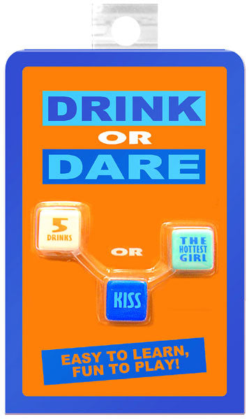 Kheper Games Drink or Dare Dice Game - Virgin Adult Toys
