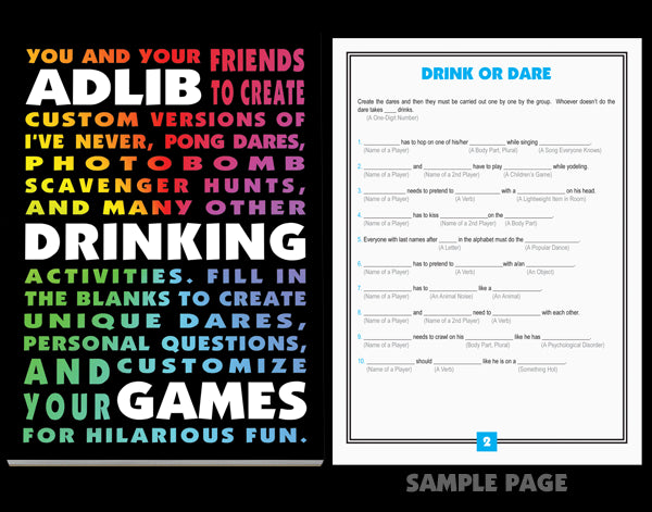 VAT- Kheper Games Ad-Libs Adult Game