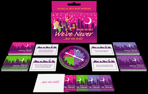 Kheper Games Bride-To-Be We've Never - Virgin Adult Toys