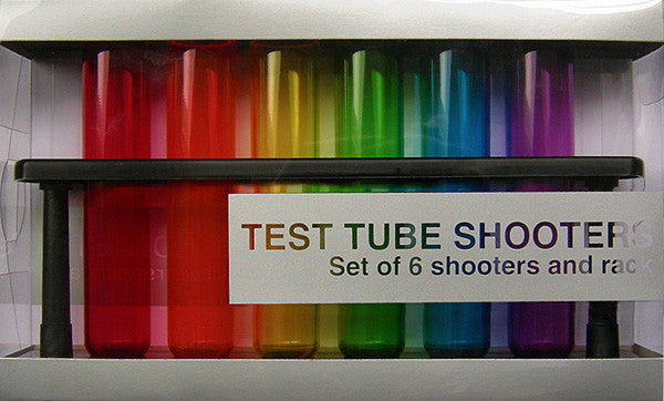 Kheper Games Acetate Test Tube Shooters - Virgin Adult Toys