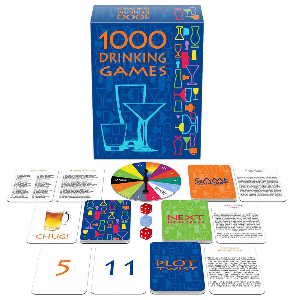 Kheper Games 1000 Drinking Games Game - Virgin Adult Toys