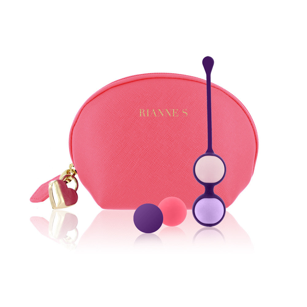 Rianne-S Playballs Multi Colour Ben Wa Balls Coral