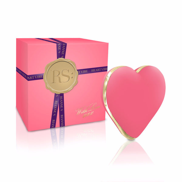 Rianne-S Heart Vibrator Pink Display