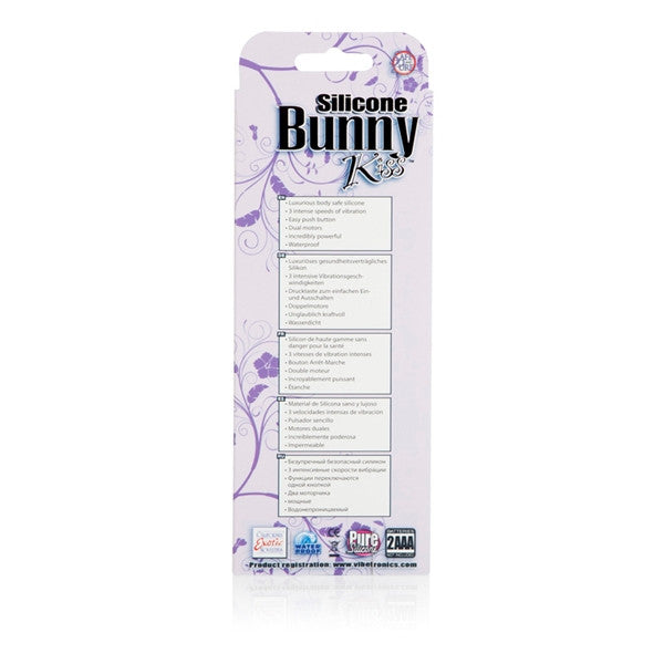 California Exotic Novelties Silicone Bunny Kiss- VAT3