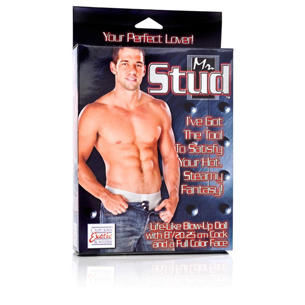 California Exotic Novelties Mr Stud Love Doll- VAT1
