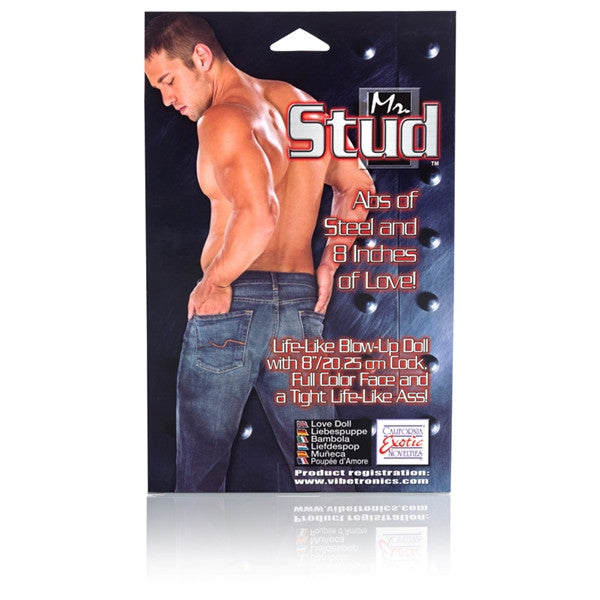 California Exotic Novelties Mr Stud Love Doll- VAT2