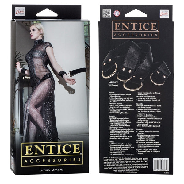 California Exotic Novelties Entice - Luxury Tethers- VAT2