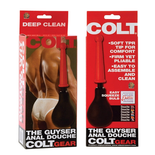California Exotic Novelties COLT The Guyser - Anal Douche- VAT2