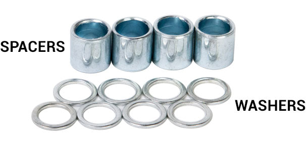 label spacer washers