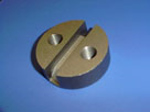 Round Reversable Pocket - Non-Threaded