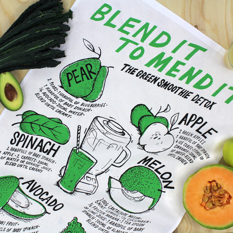 Blend It tea towel