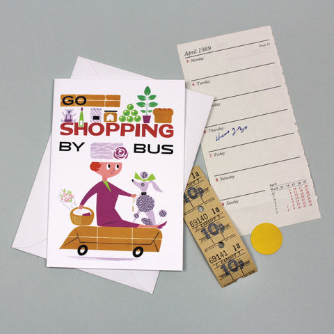 Go Shopping By Bus card