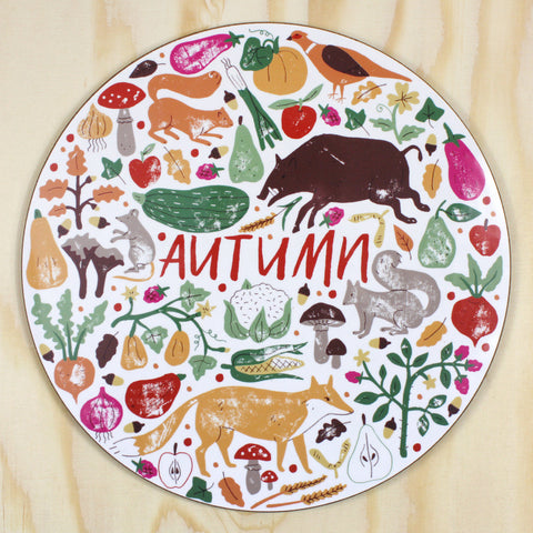 Autumn placemat/trivet