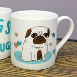 Pugs Not Drugs gift set