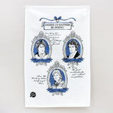 Costume Drama tea towel