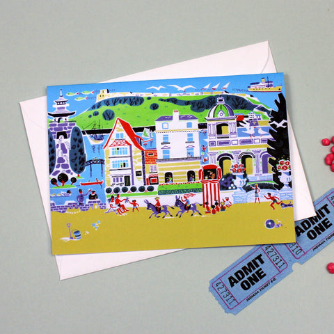 Seaside card