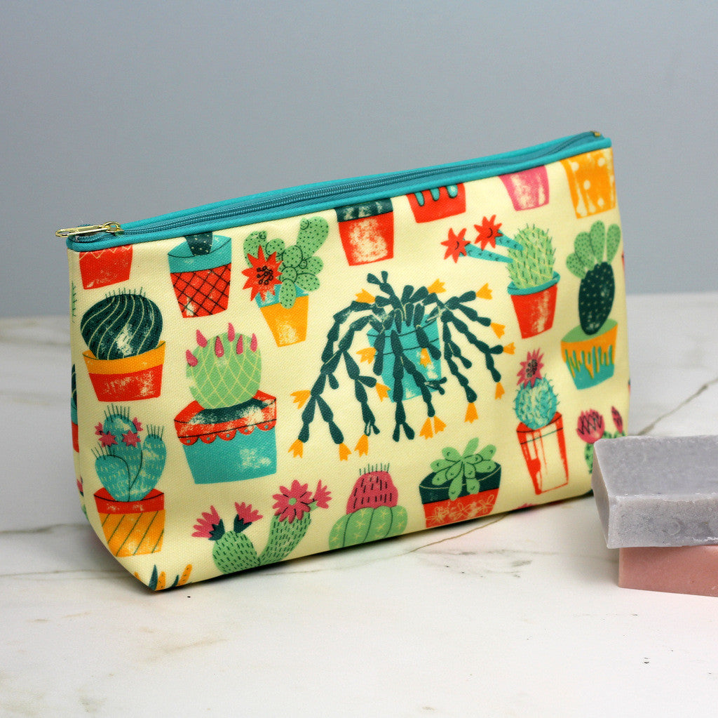 Cacti wash bag