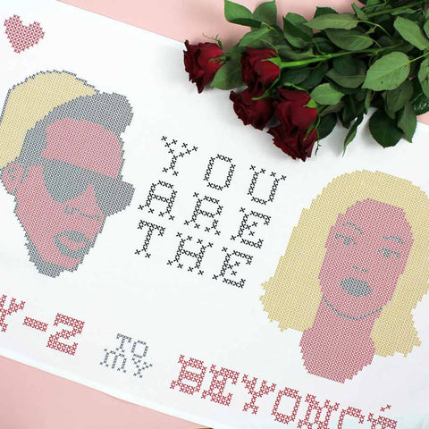 Jay-Z to my Beyoncé tea towel