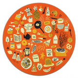 Food placemat/trivet (orange)