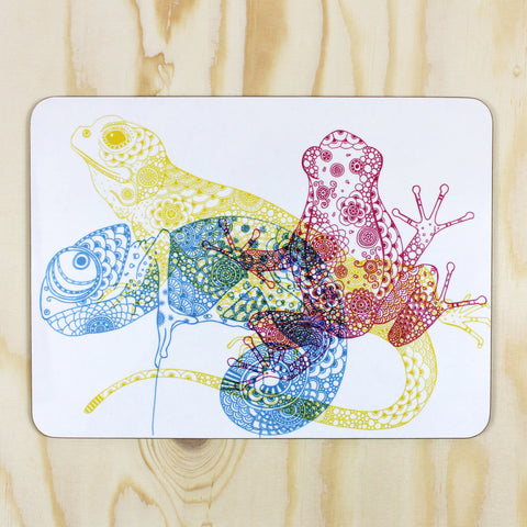 CMYK Animals placemat