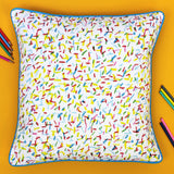 Spangle cushion