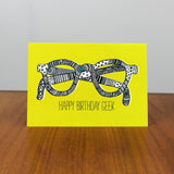 Geek Birthday card
