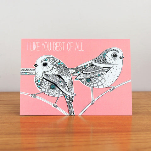 Best Birds card