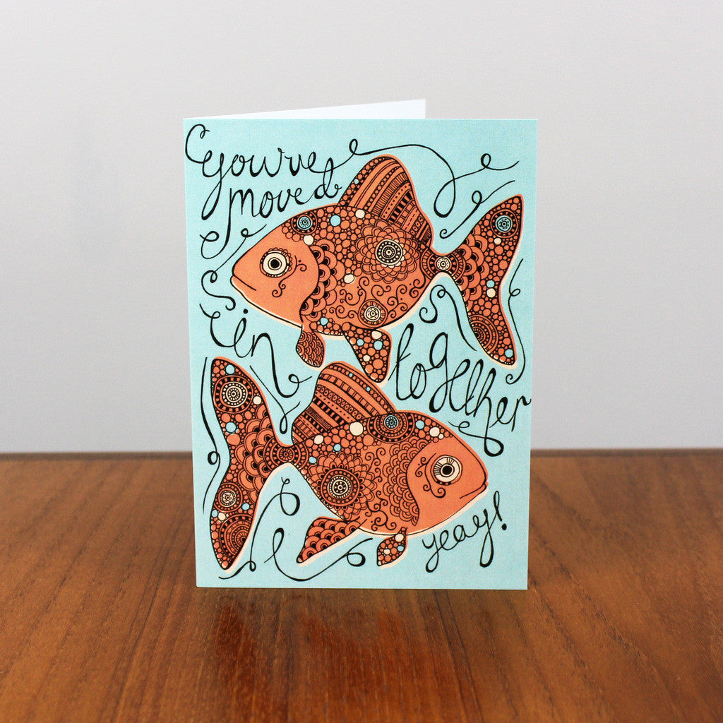 Goldfish Together card