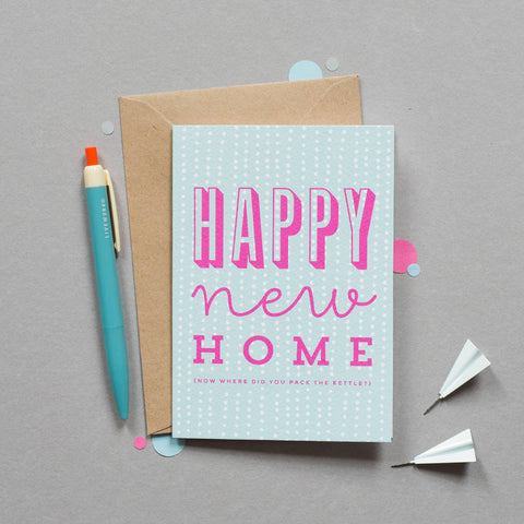 Sprinkle New Home card