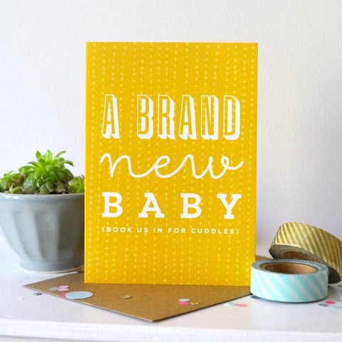 Sprinkle New Baby card